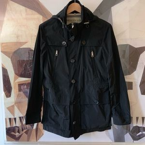 Burberry Brit Utility zip jacket with hidden hood